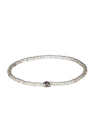 Luis Morais Bead And White Gold Bracelet