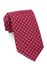 Tailorbyrd Silk Butterfly Tie Red