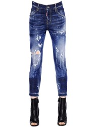 Dsquared Cool Girl Cropped Stretch Denim Jeans