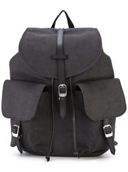 Herschel Supply Co. Double Pocket Front Backpack Black