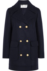 Valentino Wool Blend Peacoat Navy