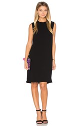 Vince Sleeveless Shift Dress Black