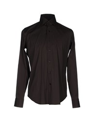 Lexington Shirts Dark Brown