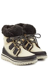 Sorel Cozy Carneval Ankle Boots With Lug Sole Multicolor