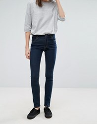 Cheap Monday Tight Very Stretchy Skinny Jeans Blue