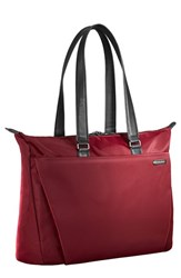 Men's Briggs And Riley 'Sympatico' Tote Burgundy