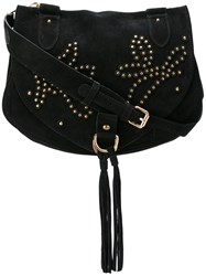 See By Chloe Stud Embellished 'Collins' Bag Women Suede One Size Black