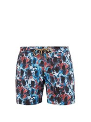 Thorsun Tie Dye Swim Shorts Blue