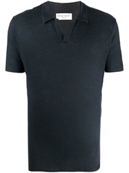 Officine Generale Short Sleeve Polo Shirt 60