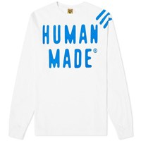 Human Made Long Sleeve Gfft Tee White