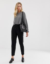 French Connection Whisper Ruth Tailored Joggers Black