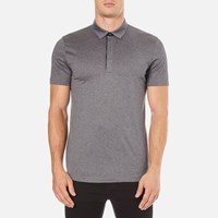 Hugo Men's Dellos Cotton Polo Shirt Grey
