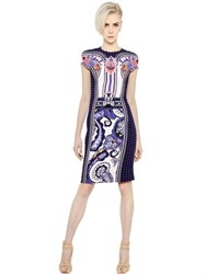 Mary Katrantzou Printed Cady Pencil Dress