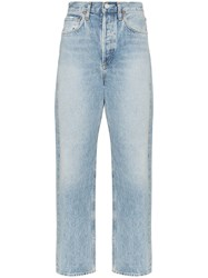 Agolde '90S High Waisted Jeans Blue
