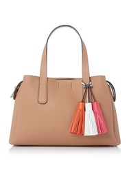 Guess Trudy Girlfriend Satchel Bag Tan