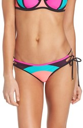 Body Glove Women's Borderline Side Tie Bikini Bottoms