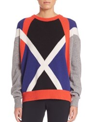 Aquilano Rimondi Graphic Print Knit Sweater Multi
