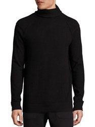 Helmut Lang Core Cashmere Turtleneck Sweater Black