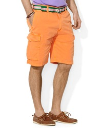Polo Ralph Lauren Relaxed Fit Corporal Cargo Shorts Bedford Orange