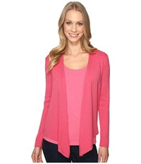 Nic Zoe 4 Way Cardy French Rose Women's Sweater Pink