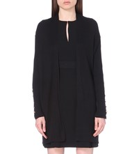 Claudie Pierlot Michel Knitted Cardigan Noir