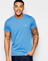 Abercrombie And Fitch T Shirt In Palace Blue Palace Blue