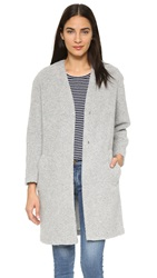 Paul And Joe Sister Pop Up Coat Grey