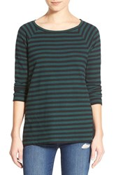 Women's Leith Stripe Side Slit Tee