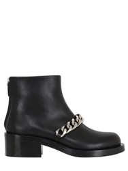 Givenchy 50Mm Laura Chained Leather Ankle Boots