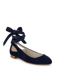 Kenneth Cole Wilhelmina Lace Up Shoes Navy
