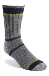 Men's Woolrich Merino Wool Blend Stripe Socks