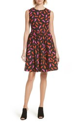 Kate Spade Women's New York Fit And Flare Dress