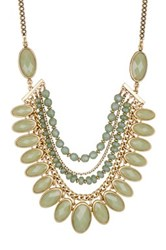 Lucky Brand Mint Collar Necklace Green