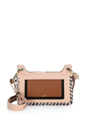 Jason Wu Suvi Whipstitched Leather Baguette Powder Pink