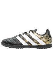 Adidas Performance Ace 16.3 Tf Astro Turf Trainers Core Black White Gold Metallic