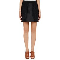 Harvey Faircloth Women's Layered Miniskirt Black