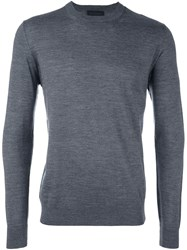 Diesel Black Gold Crew Neck Pullover Grey