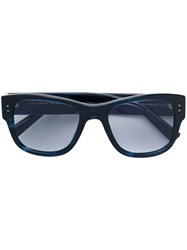 Dolce And Gabbana Eyewear Square Frame Sunglasses Blue