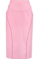Vionnet Wool And Angora Blend Skirt Pink