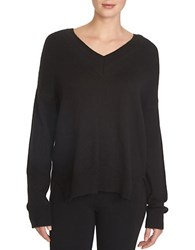 1.State Slouchy Hi Lo Sweater Black