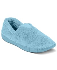 Muk Luks Fleece Espadrille Slippers Carribean