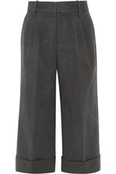 Raoul Knitted Wide Leg Pants Gray