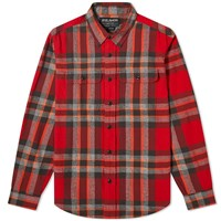 Filson Checked Scout Shirt Red