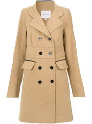 Olympiah Pumacahua Coat Brown