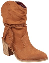 Rocket Dog Deputy Pull On Boots Cinnamon