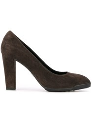 Tod's Classic Court Pumps Grey