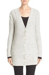 Rag And Bone Women's Tamara Cashmere Cardigan Light Grey