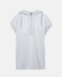 Stella Mccartney Grey Grey Hooded Tshirt