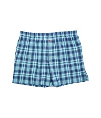 Tommy Bahama Woven Boxer Big Blue Plaid Men's Underwear Multi