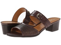 Naturalizer Cadie Bridal Brown Smooth Women's Sandals